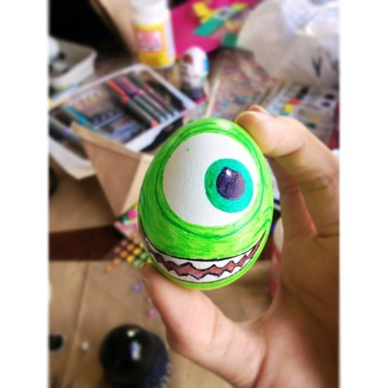 Monsters Inc. Easter egg decoration
