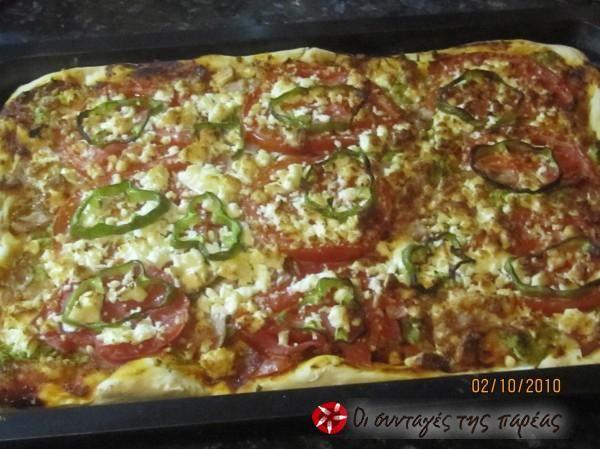 Η καλύτερη πίτσα του κόσμου #sintagespareas