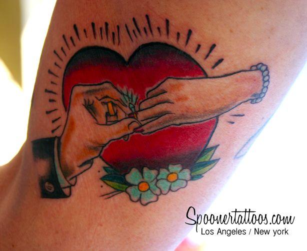 c4f5f5220d1baf4377c7944b9a6e9f71  wedding tattoos marriage - Traditional Wedding Tattoos