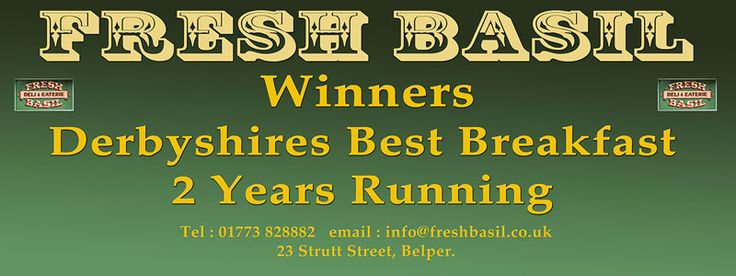 Fresh Basil Deli and Eaterie | Belper | Derbyshire