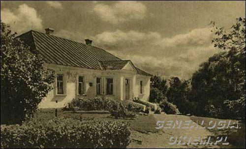 Pałace, dwory, dworki - Nowogródek - dom Mickiewiczów - Wyszukiwarka genograficzna