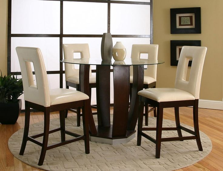 Emerson Table + 4 Chairs 45133-539 Cramco Counter Height Dining Sets at comfyco.com furniture store
