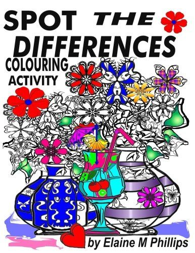 Spot The Differences Activity Book: Simple Spot the diffe... https://www.amazon.com/dp/1988097150/ref=cm_sw_r_pi_dp_U_x_-nZEAb0XA8H7W