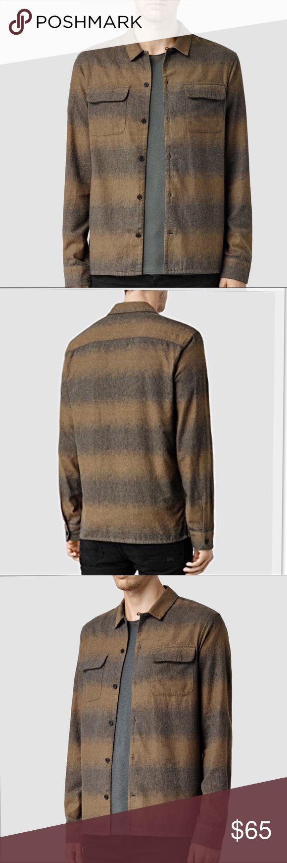 All Saints Appalachia LS Shirt Mustard /Gray Marl Men's Appalachia Shirt L Mustard/Grey Marl. Casual Button-Down Shirts. 100% Cotton-Machine Wash - Hang Dry All Saints Shirts Casual Button Down Shirts