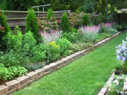 Bordures de jardin 20 idées originales