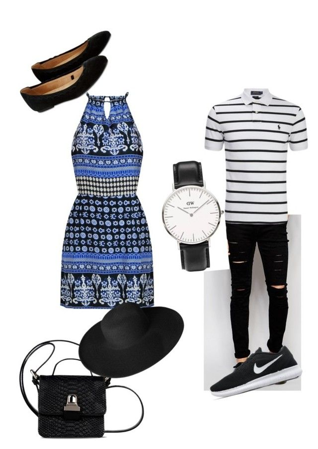 """Day out"" by fashion-girl-katrina on Polyvore featuring Accessorize, Cheap Monday, Ralph Lauren, NIKE, MM6 Maison Margiela, Daniel Wellington and Dorfman Pacific"