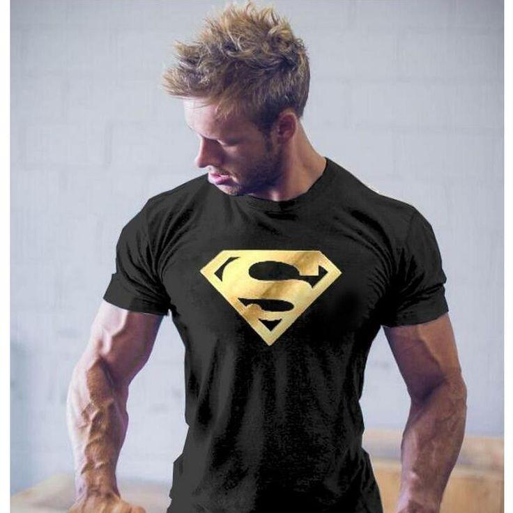 Fashion Men Superman T-Shirts 3D Printed Shirt Slim Fit Summer Cotton Short Sleeve Bodybuilding Male Golden Fitness Streetwear - http://fashionfromchina.net/?product=fashion-men-superman-t-shirts-3d-printed-shirt-slim-fit-summer-cotton-short-sleeve-bodybuilding-male-golden-fitness-streetwear