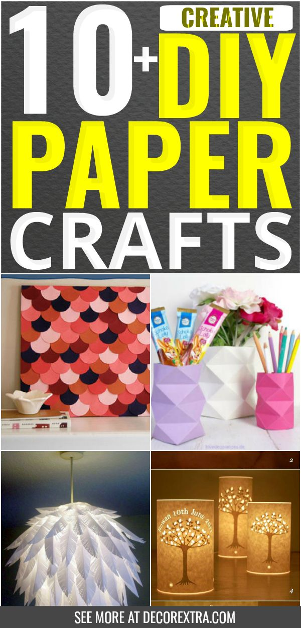 10 Creative Diy Paper Craft Ideas That Everyone Must See Cool