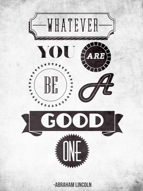 ...be a good one! #typography #design