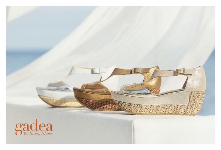 Sandalias con cuña Gadea Wellness Shoes.