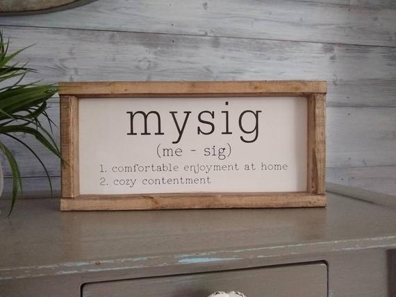 Mysig Sign Swedish Definition Painted Sweden Wall Decor Home Living Scandinavian Decor Viking Cozy Scandinavian Decor Scandinavian Home Scandinavian