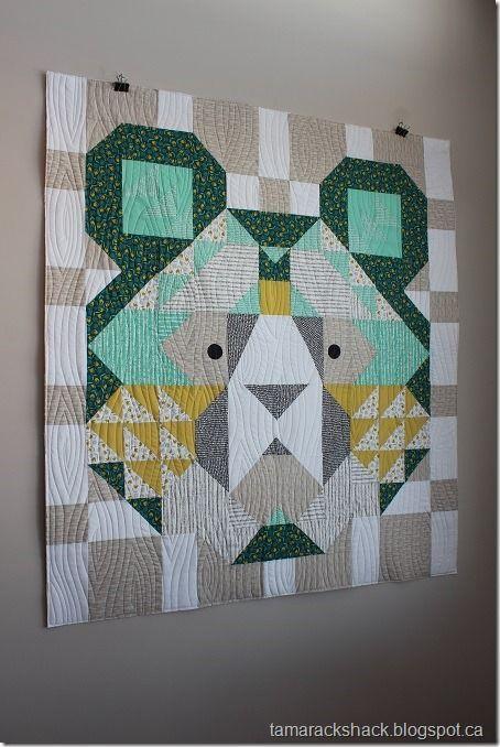 Big Sky Bear (Tamarack Shack) | Quilts & Warmth | Quilts
