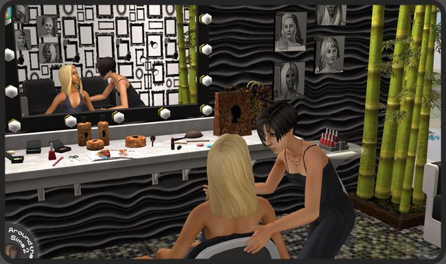 Around The Sims 2 Objects Downtown Beauty Salon