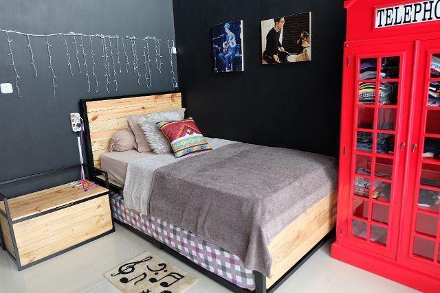 108 best dekorasi kamar tidur images on pinterest bed on wall stickers stiker kamar tidur remaja id=52973