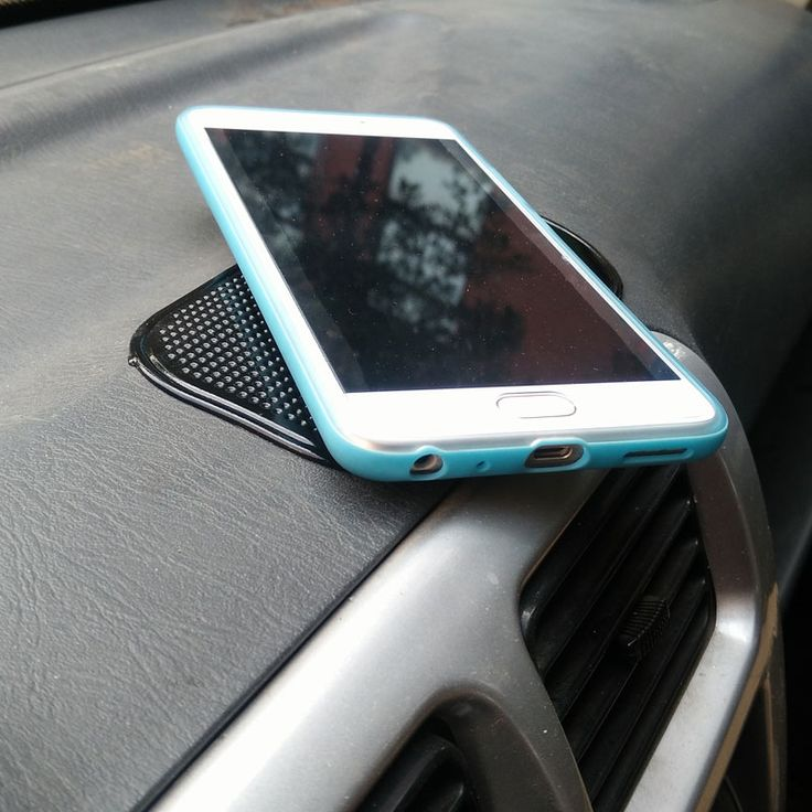 car-styling Black Anti Slip Mat mp3 Navigation Phone Holder For Car Anti-Slip Mat For Phone Pad Useful Car Accessories Interior