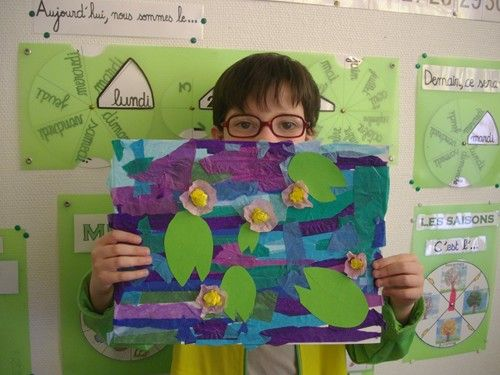 [Ecole Jules Ferry de Nanterre] Un petit tour chez Monet.