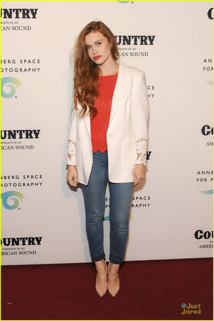 Holland Roden attending the Country, Portraits of an American Sound celebration at the Annenberg Space