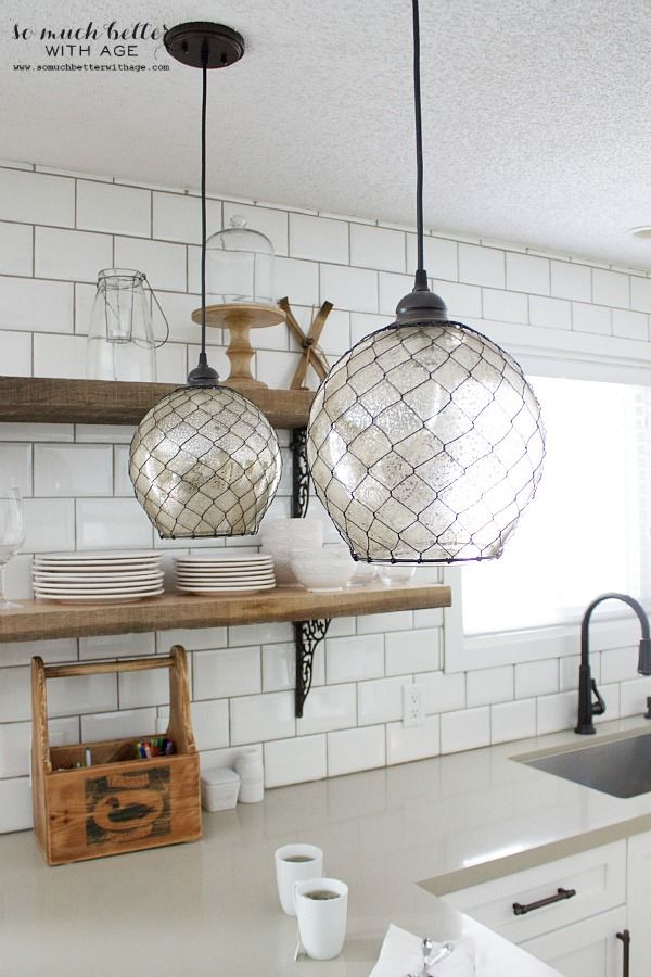 Best 25 rustic industrial kitchens ideas on pinterest for Rustic industrial kitchen lighting