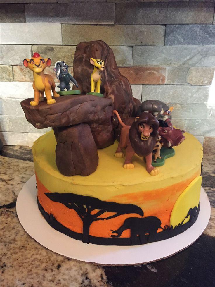 Best 20 Lion King Cakes Ideas On Pinterest King Torta
