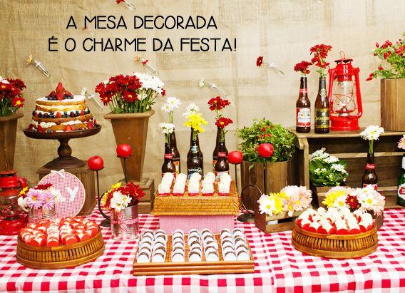 decoração de festa de comida de boteco - Pesquisa Google