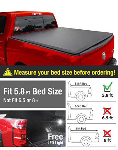 Premium TriFold Tonneau Truck Bed Cover For 2009-2016 Dodge Ram 1500, 5.8 feet (69.6 inch) Trifold Truck Cargo Bed Tonno Cover (NOT For Stepside) - http://www.caraccessoriesonlinemarket.com/premium-trifold-tonneau-truck-bed-cover-for-2009-2016-dodge-ram-1500-5-8-feet-69-6-inch-trifold-truck-cargo-bed-tonno-cover-not-for-stepside/  #1500, #20092016, #696, #Cargo, #Cover, #Dodge, #Feet, #Inch, #Premium, #Stepside, #Tonneau, #Tonno, #TriFold, #Truck #Tonneau-Covers