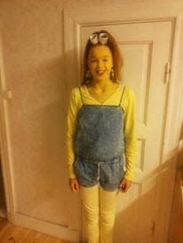 Saskia's knutsel blog: Minion Costume