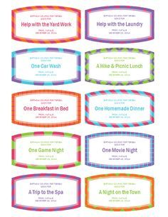 Babysitting Coupons Template   Google Search  Microsoft Office Coupon Template