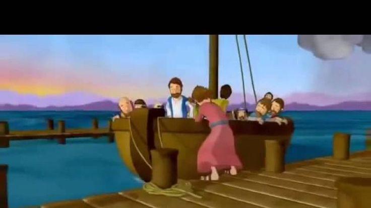 Отличная христианская песенка для детей об Иисусе. Песня-молитва с мультяшным клипом.