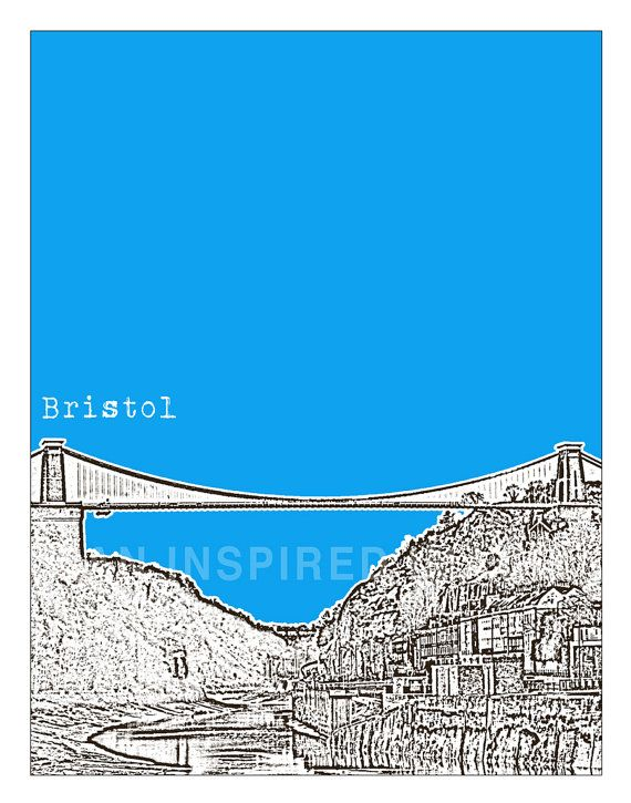 8 best bristol ideas images on pinterest floating deck suspension bristol england poster art print uk united kingdom clifton suspension bridge reheart