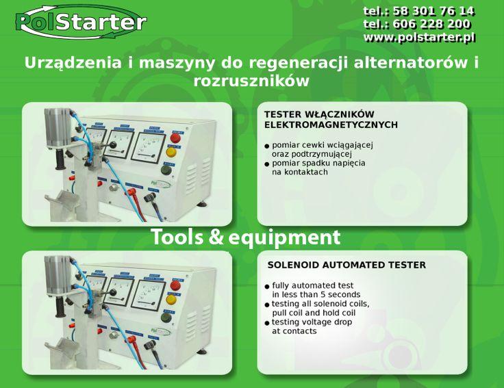 ⚫Zachęcamy do zapoznania się z naszą ofertą maszyn i urządzeń do regeneracjii alternatorów i rozruszników 😊  ⚫Więcej informacji w linku:  ➜ http://www.polstarter.pl/maszyny-i-urzadzenia,52,pl.html  ✔ Odwiedź także naszą stronę internetową i sklep internetowy: ➜ www.polstarter.pl ➜ www.sklep.polstarter.pl  ⚫ KONTAKT: 📲 792 205 305 ✉ allegro@polstarter.pl  #rozrusznik #alternator #rozruszniki #alternatory #samochód #samochody #motoryzacja #części #samochodowe #oferta #maszyny #urządzenia