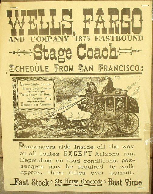 Wells Fargo Stagecoach   Wells Fargo Stagecoach Poster   Flickr - Photo Sharing!