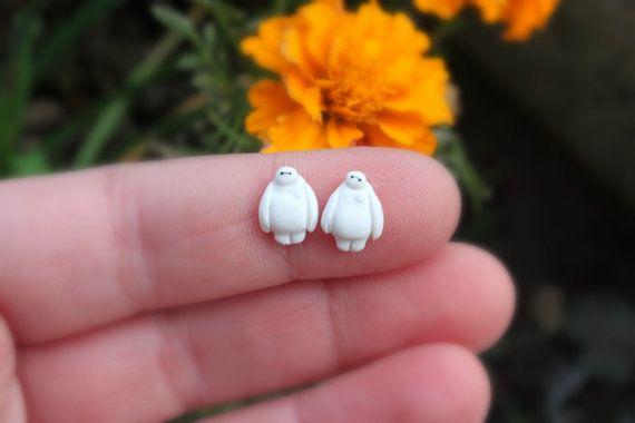 Baymax earrings ,Big Hero movie inspired