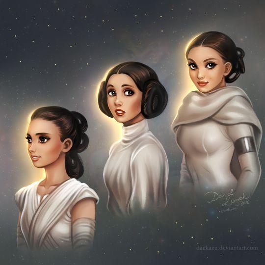 Star Wars Generaciones: Pádme, Leia y Rey