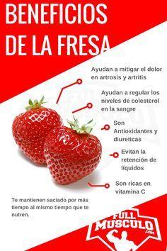 Propiedades y beneficios de la fresa