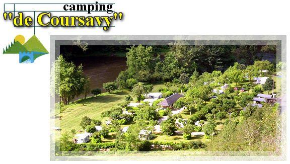 Camping de Coursavy (zuiden Auvergne, bij de Lot)