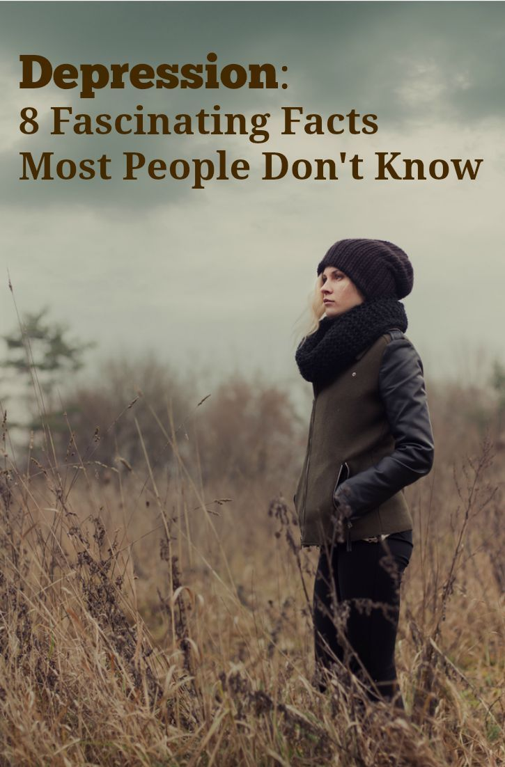 A must-read for anybody who has depression, might have depression, or knows somebody with depression. http://www.heysigmund.com/depression-8-fascinating-facts-many-dont-know/
