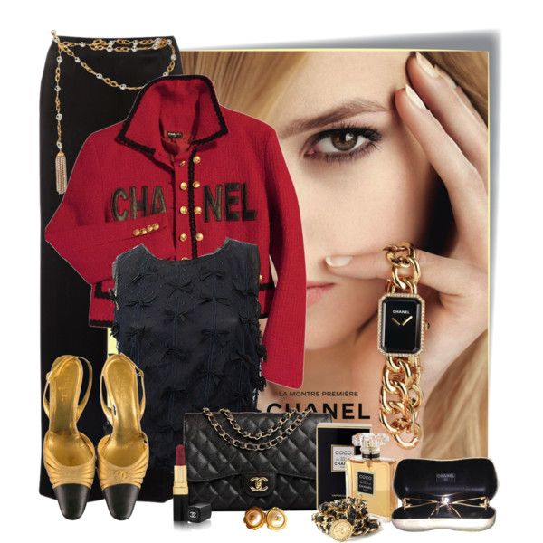 Chanel by marcialaraia on Polyvore featuring moda and Chanel
