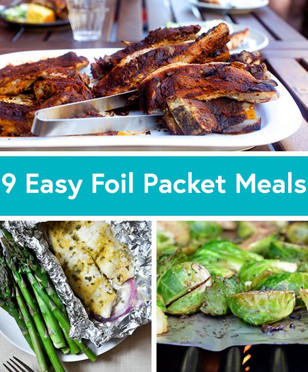 Best 179 easy camping recipes ideas on pinterest camping foods 9 delicious foil packet recipes to pop on the grill forumfinder Gallery