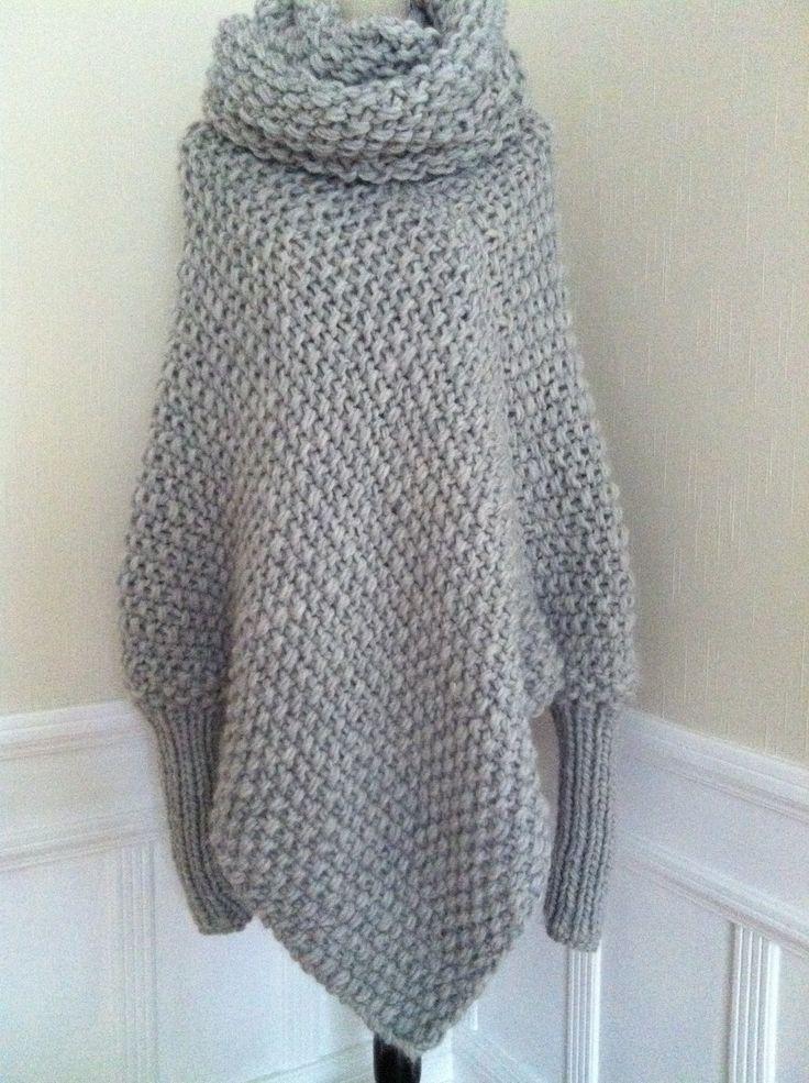 marianne mirabelle: Min grå poncho