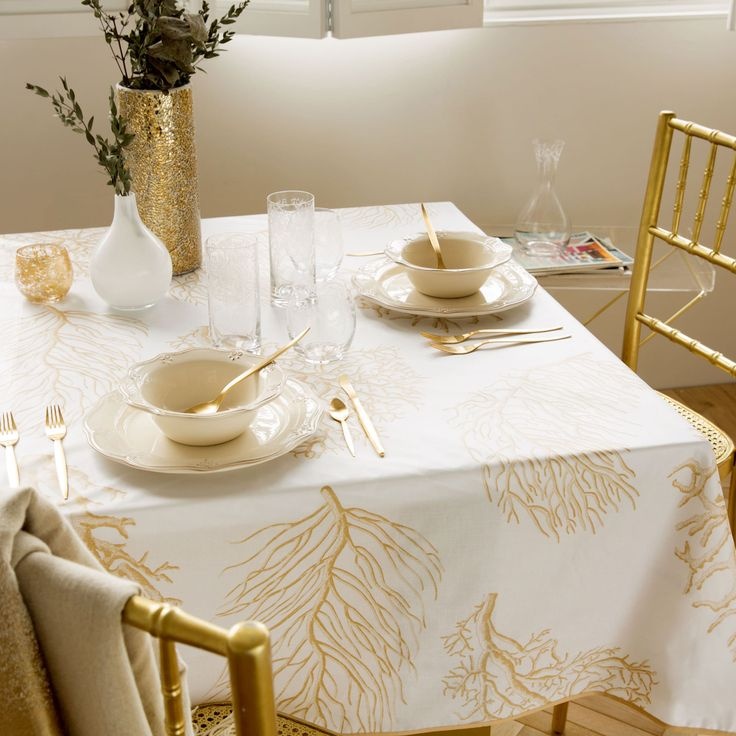 Mantel Plastificado Corales - Manteles - Mesa | Zara Home España