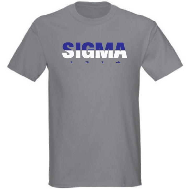 Greek - Phi Beta Sigma Greek 1914 T-Shirt - Sport Grey