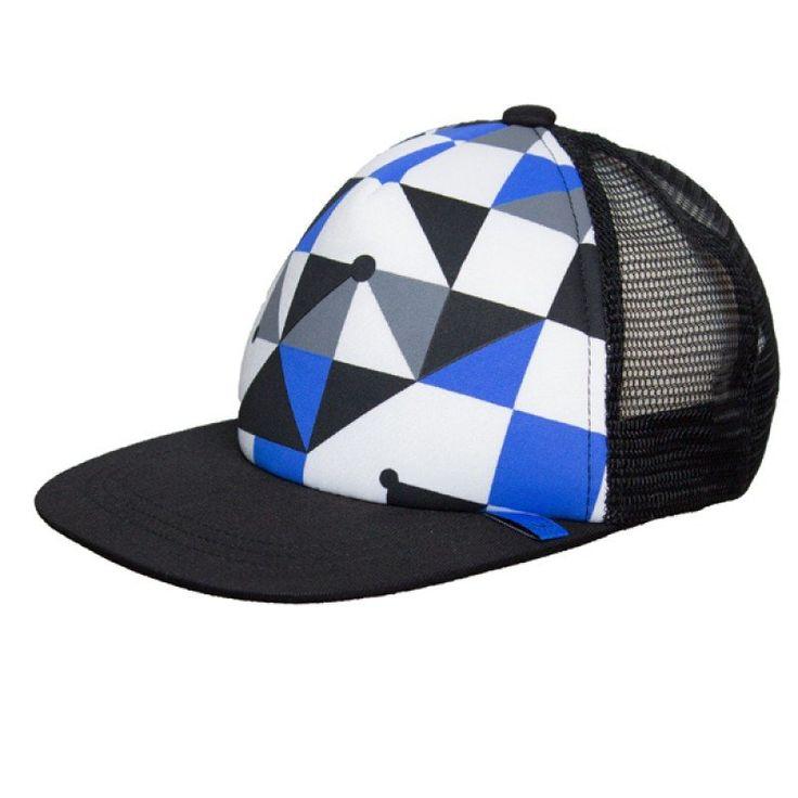 Calikids Ball Cap - Black Geo