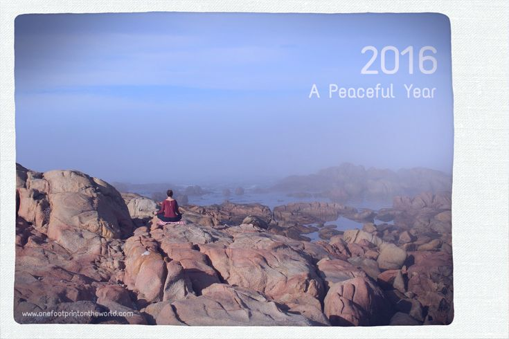 A peaceful year | One Footprint On The World