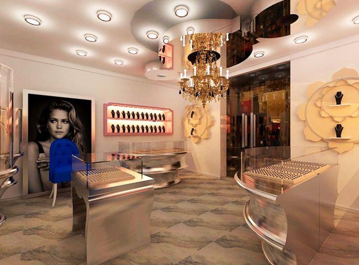 Jewelry Design, jewelry decoration , jewelry interior design (5)