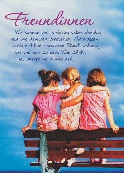 Freundinnen Spruche Freundschaft Freunde Und Freundschaft Zitate