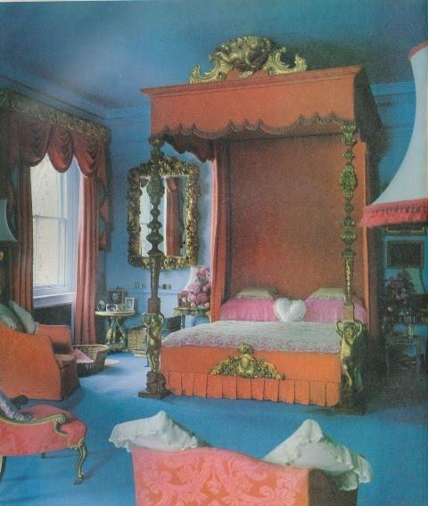 The Peak Of Chic Barbara Cartland Home Decor Pinterest