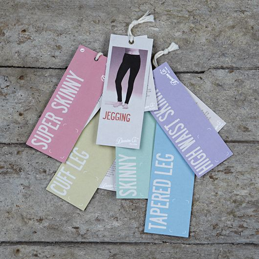 Primark Denim Co Tags Label Ticketing Colour Fashion