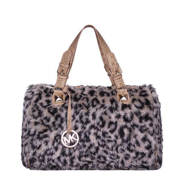 Michael Kors Outlet Fur Leopard Hair Large Beige Satchels -Michael Kors factory outlet online sale now up to 72% off!