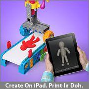A 3D printer that prints in PLAYDOH