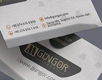 Gungor Constraction Brand Identity Free Mockup